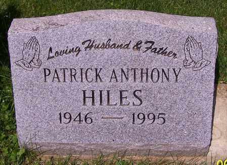 HILES, PATRICK ANTHONY - Stark County, Ohio | PATRICK ANTHONY HILES - Ohio Gravestone Photos