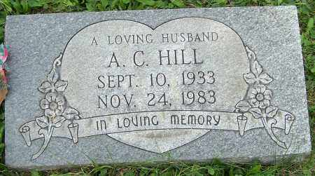HILL, A.C. - Stark County, Ohio | A.C. HILL - Ohio Gravestone Photos