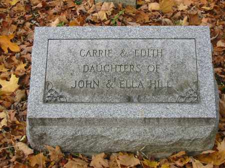 HILL, CARRIE - Stark County, Ohio | CARRIE HILL - Ohio Gravestone Photos