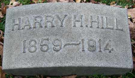 HILL, HARRY H. - Stark County, Ohio | HARRY H. HILL - Ohio Gravestone Photos