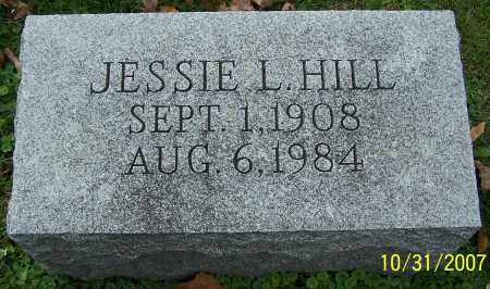 HILL, JESSIE L. - Stark County, Ohio | JESSIE L. HILL - Ohio Gravestone Photos