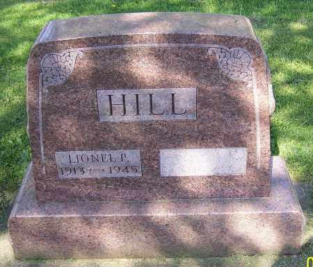 HILL, LIONEL P. - Stark County, Ohio | LIONEL P. HILL - Ohio Gravestone Photos