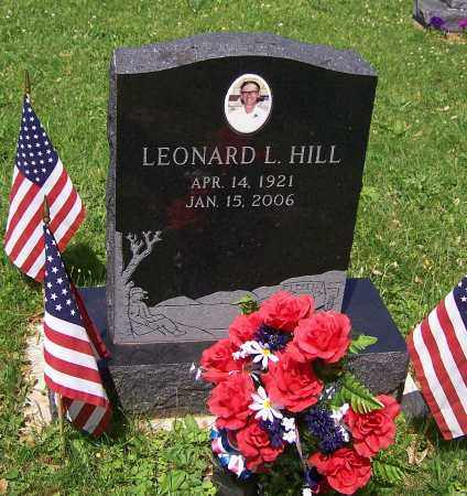 HILL, LEONARD L. - Stark County, Ohio | LEONARD L. HILL - Ohio Gravestone Photos
