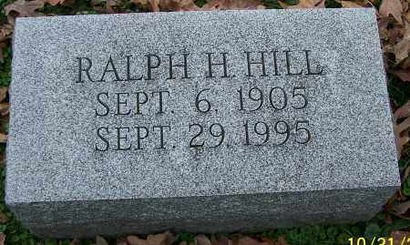 HILL, RALPH H. - Stark County, Ohio | RALPH H. HILL - Ohio Gravestone Photos