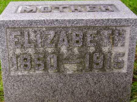 HILLIER, ELIZABETH - Stark County, Ohio | ELIZABETH HILLIER - Ohio Gravestone Photos