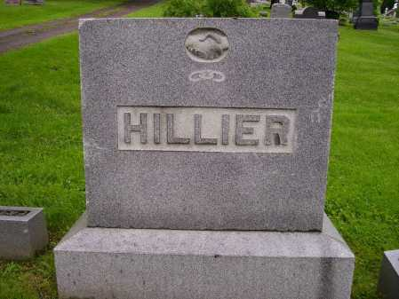 HILLIER, FAMILY MONUMENT - Stark County, Ohio | FAMILY MONUMENT HILLIER - Ohio Gravestone Photos