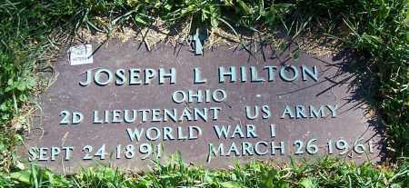 HILTON, JOSEPH L. - Stark County, Ohio | JOSEPH L. HILTON - Ohio Gravestone Photos