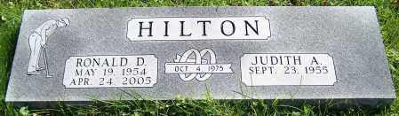 HILTON, RONALD D. - Stark County, Ohio | RONALD D. HILTON - Ohio Gravestone Photos