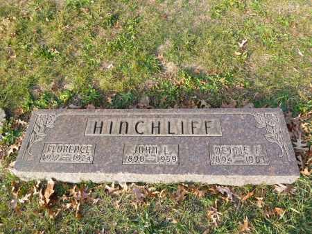 HINCHCLIFF, FLORENCE - Stark County, Ohio | FLORENCE HINCHCLIFF - Ohio Gravestone Photos