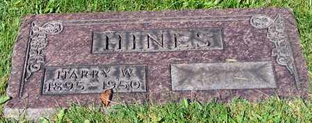 HINES, HARRY W. - Stark County, Ohio | HARRY W. HINES - Ohio Gravestone Photos