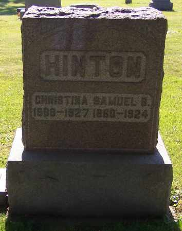 HINTON, SAMUEL B. - Stark County, Ohio | SAMUEL B. HINTON - Ohio Gravestone Photos