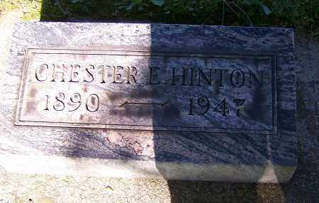 HINTON, CHESTER E. - Stark County, Ohio | CHESTER E. HINTON - Ohio Gravestone Photos