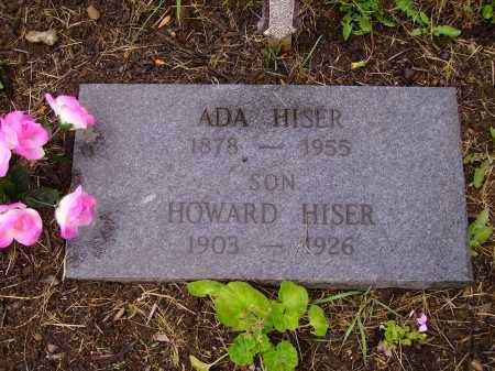 HISER, ADA - Stark County, Ohio | ADA HISER - Ohio Gravestone Photos