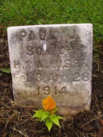 HISER, PAUL J. - Stark County, Ohio | PAUL J. HISER - Ohio Gravestone Photos