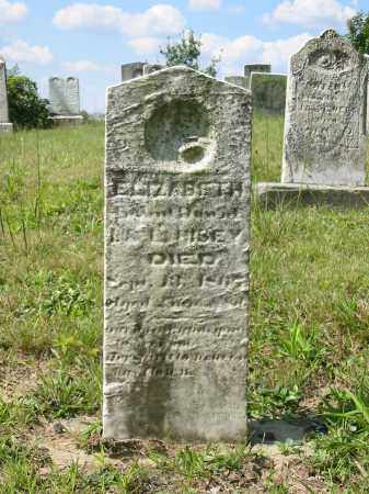 HISEY, ELIZABETH - Stark County, Ohio | ELIZABETH HISEY - Ohio Gravestone Photos