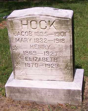 HOCK, JACOB - Stark County, Ohio | JACOB HOCK - Ohio Gravestone Photos