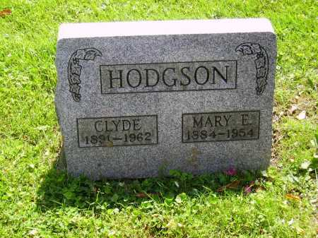 HODGSON, CLYDE - Stark County, Ohio | CLYDE HODGSON - Ohio Gravestone Photos