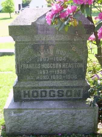 HODGSON, JOHNATHAN - MONUMENT - Stark County, Ohio | JOHNATHAN - MONUMENT HODGSON - Ohio Gravestone Photos