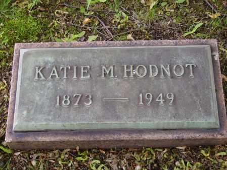 HODNOT, KATIE M. - Stark County, Ohio | KATIE M. HODNOT - Ohio Gravestone Photos