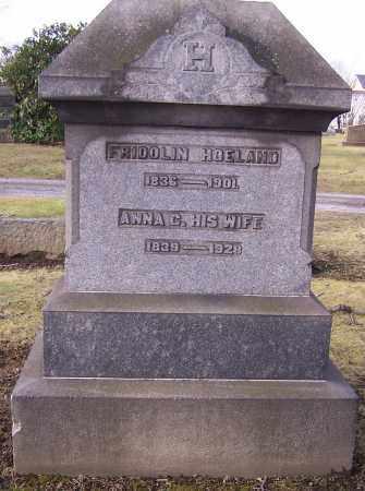 HOELAND, FRIDOLIN - Stark County, Ohio | FRIDOLIN HOELAND - Ohio Gravestone Photos