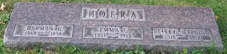 HOERA, EMMA E. - Stark County, Ohio | EMMA E. HOERA - Ohio Gravestone Photos