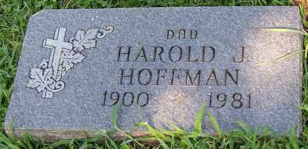 HOFFMAN, HAROLD J. - Stark County, Ohio | HAROLD J. HOFFMAN - Ohio Gravestone Photos