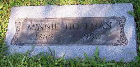 HOFFMAN, MINNIE - Stark County, Ohio | MINNIE HOFFMAN - Ohio Gravestone Photos