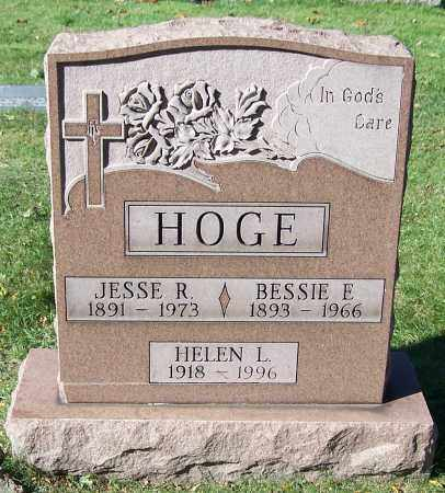 HOGE, BESSIE E. - Stark County, Ohio | BESSIE E. HOGE - Ohio Gravestone Photos