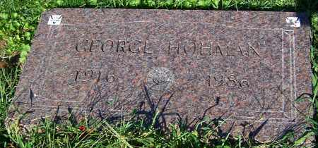 HOHMAN, GEORGE - Stark County, Ohio | GEORGE HOHMAN - Ohio Gravestone Photos