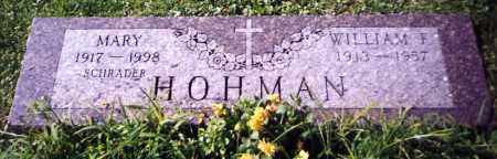 HOHMAN, MARY - Stark County, Ohio | MARY HOHMAN - Ohio Gravestone Photos