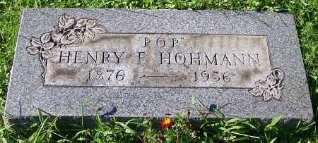 HOHMANN, HENRY F. - Stark County, Ohio | HENRY F. HOHMANN - Ohio Gravestone Photos