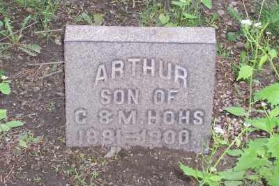 HOHS, ARTHUR - Stark County, Ohio | ARTHUR HOHS - Ohio Gravestone Photos