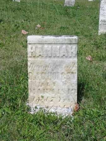 HOLBEN, HANNAH - Stark County, Ohio | HANNAH HOLBEN - Ohio Gravestone Photos
