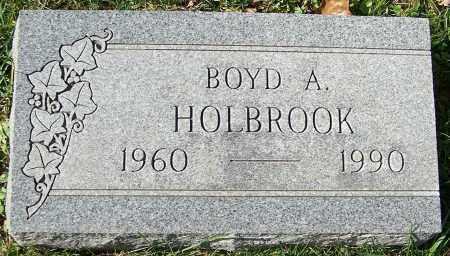 HOLBROOK, BOYD A. - Stark County, Ohio | BOYD A. HOLBROOK - Ohio Gravestone Photos
