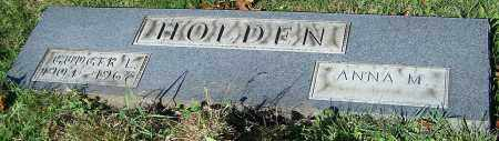 HOLDEN, ANNA M. - Stark County, Ohio | ANNA M. HOLDEN - Ohio Gravestone Photos
