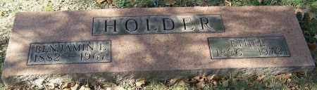 HOLDER, BENJAMIN F. - Stark County, Ohio | BENJAMIN F. HOLDER - Ohio Gravestone Photos