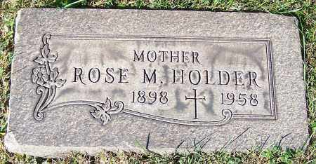 HOLDER, ROSE M. - Stark County, Ohio | ROSE M. HOLDER - Ohio Gravestone Photos