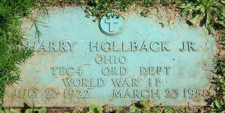 HOLLBACK, HARRY (JR) - Stark County, Ohio | HARRY (JR) HOLLBACK - Ohio Gravestone Photos