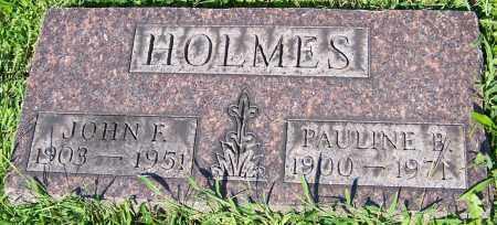 HOLMES, JOHN F. - Stark County, Ohio | JOHN F. HOLMES - Ohio Gravestone Photos