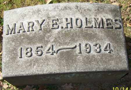 HOLMES, MARY E. - Stark County, Ohio | MARY E. HOLMES - Ohio Gravestone Photos