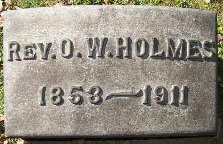 HOLMES, REV. O.W. - Stark County, Ohio | REV. O.W. HOLMES - Ohio Gravestone Photos