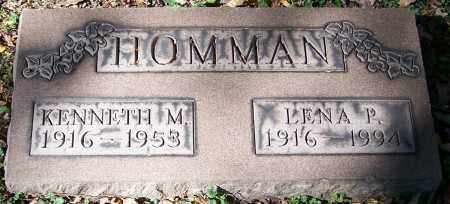 HOMMAN, KENNETH M. - Stark County, Ohio | KENNETH M. HOMMAN - Ohio Gravestone Photos