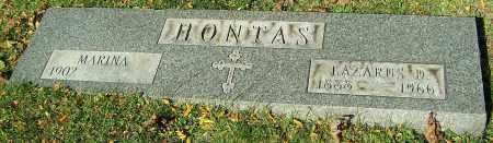 HONTAS, MARINA - Stark County, Ohio | MARINA HONTAS - Ohio Gravestone Photos