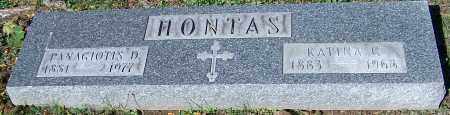 HONTAS, PANAGIOTIS D. - Stark County, Ohio | PANAGIOTIS D. HONTAS - Ohio Gravestone Photos