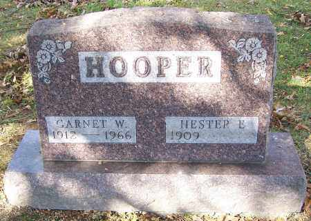 HOOPER, GARNET W. - Stark County, Ohio | GARNET W. HOOPER - Ohio Gravestone Photos