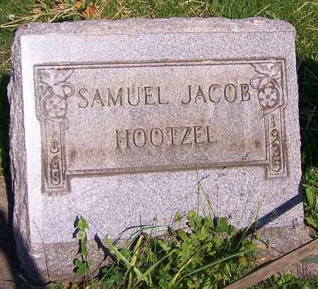 HOOTZEL, SAMUEL JACOB - Stark County, Ohio | SAMUEL JACOB HOOTZEL - Ohio Gravestone Photos