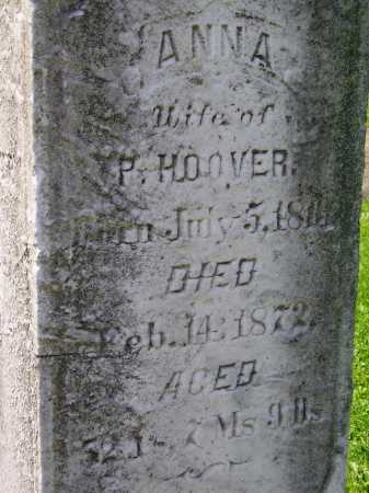 ALLBRIGHT HOOVER, ANNA - Stark County, Ohio | ANNA ALLBRIGHT HOOVER - Ohio Gravestone Photos