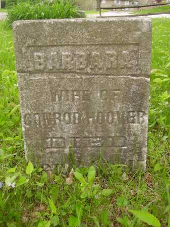HOOVER, BARBARA - Stark County, Ohio | BARBARA HOOVER - Ohio Gravestone Photos