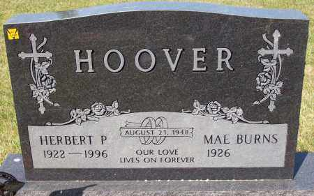 BURNS HOOVER, MAE - Stark County, Ohio | MAE BURNS HOOVER - Ohio Gravestone Photos