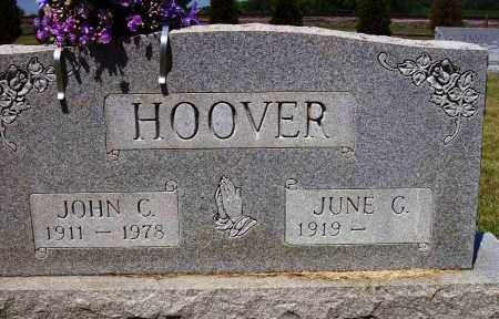 CARMAN HOOVER, JUNE G. - Stark County, Ohio | JUNE G. CARMAN HOOVER - Ohio Gravestone Photos